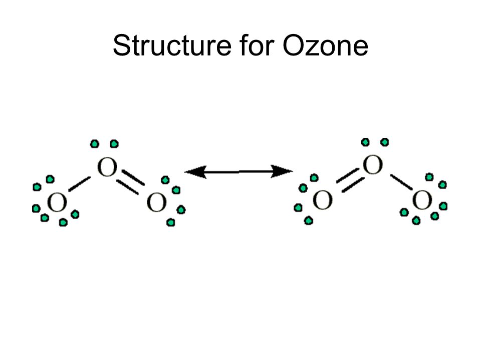 Structure for Ozone