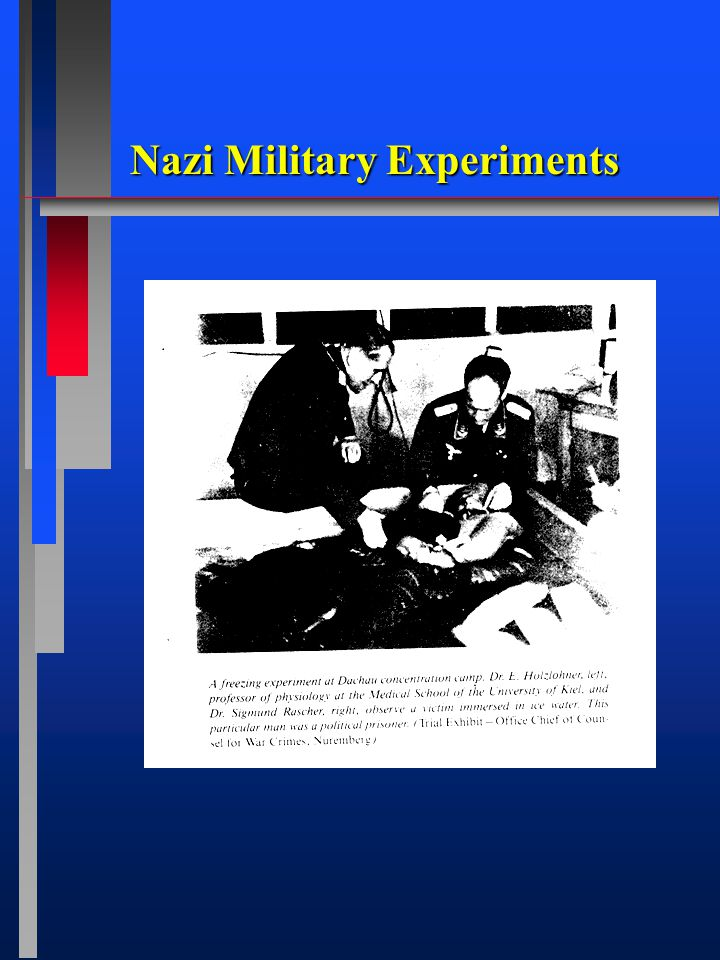 Nazi Military Experiments