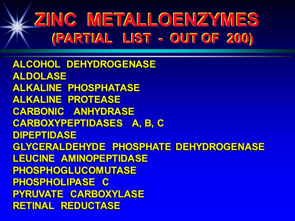 why zinc ? ? ?