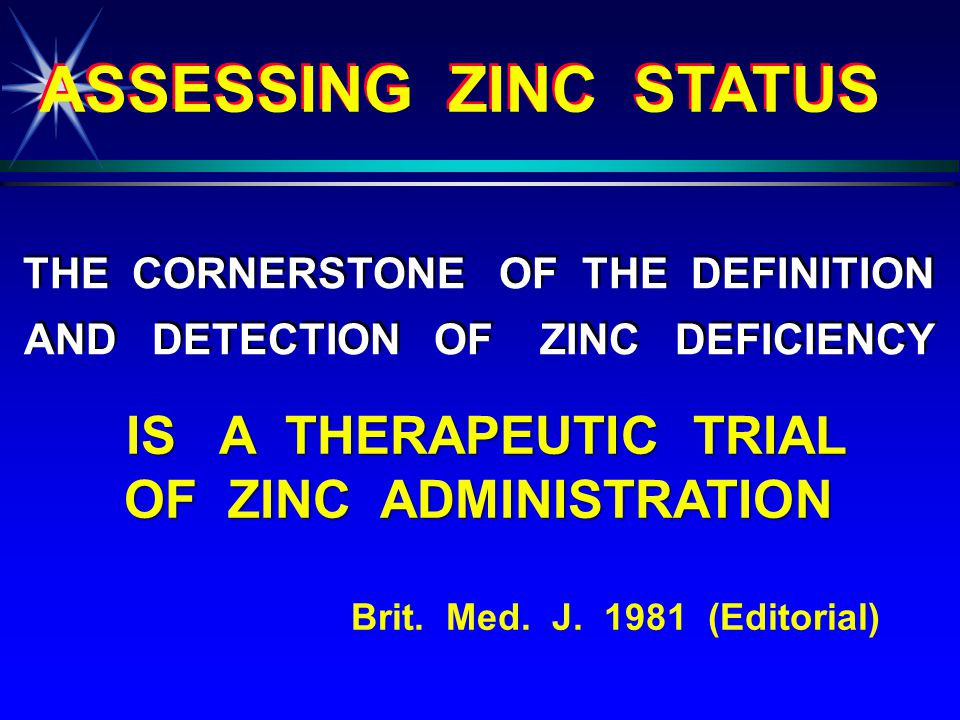 In Apparently Normal Children with Poor Growth but No Evidence of Zinc Deficiency, Zinc Supplementation Induced a Significant Increase in Height with No Significant Change in Plasma Zinc Levels...