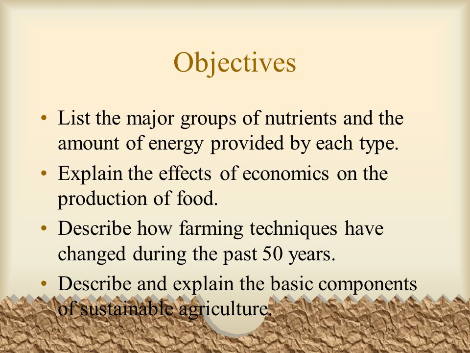 Chp14.4 Sustainable Agriculture Can use N-fixing crops to serve as a cover crop (nonfood plants that are grown between growing seasons); restore N to the soil and reduce erosion.