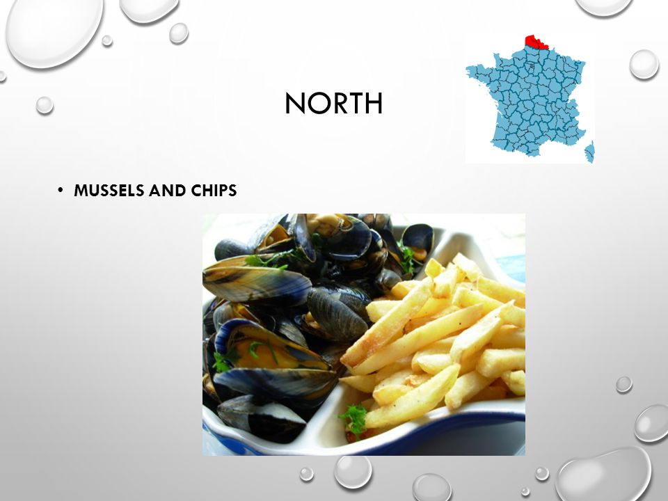 NORTH MUSSELS AND CHIPS