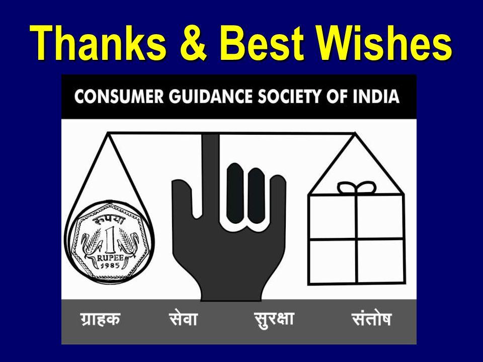 Thanks & Best Wishes