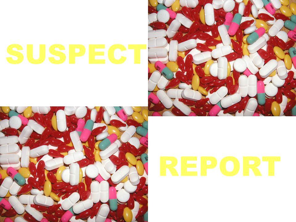 SUSPECT REPORT