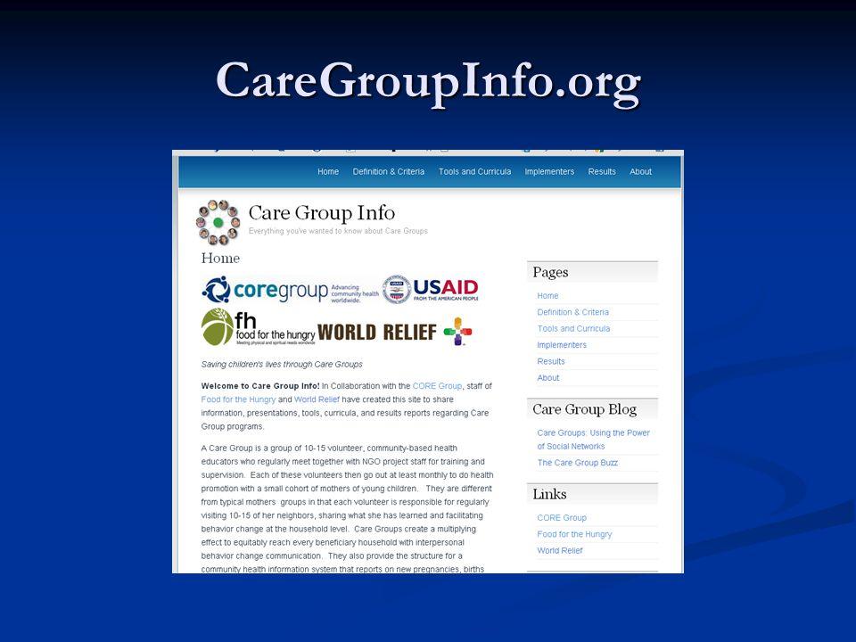 CareGroupInfo.org