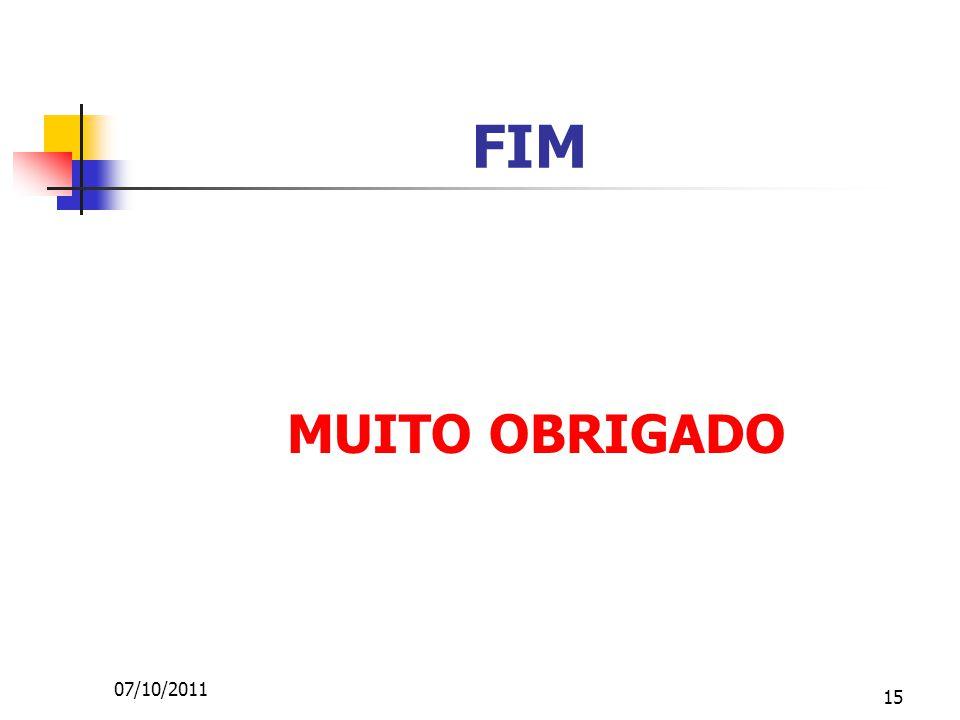 15 FIM MUITO OBRIGADO 07/10/2011