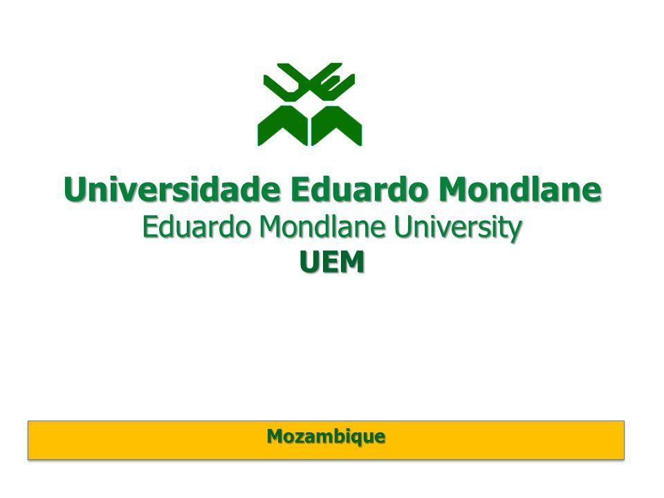 Universidade Eduardo Mondlane Eduardo Mondlane University UEM MozambiqueMozambique