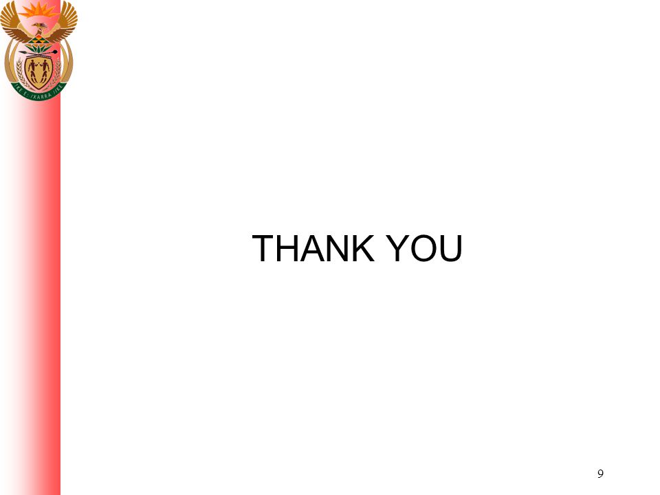 9 THANK YOU