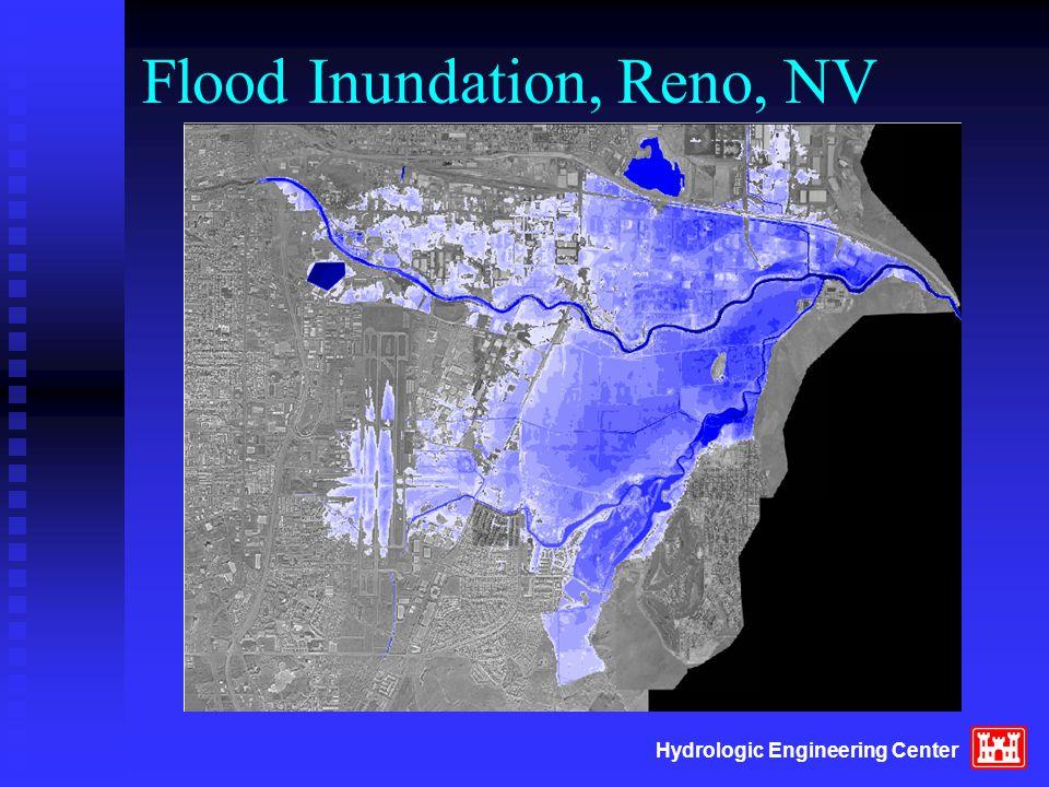 Hydrologic Engineering Center Flood Inundation, Reno, NV