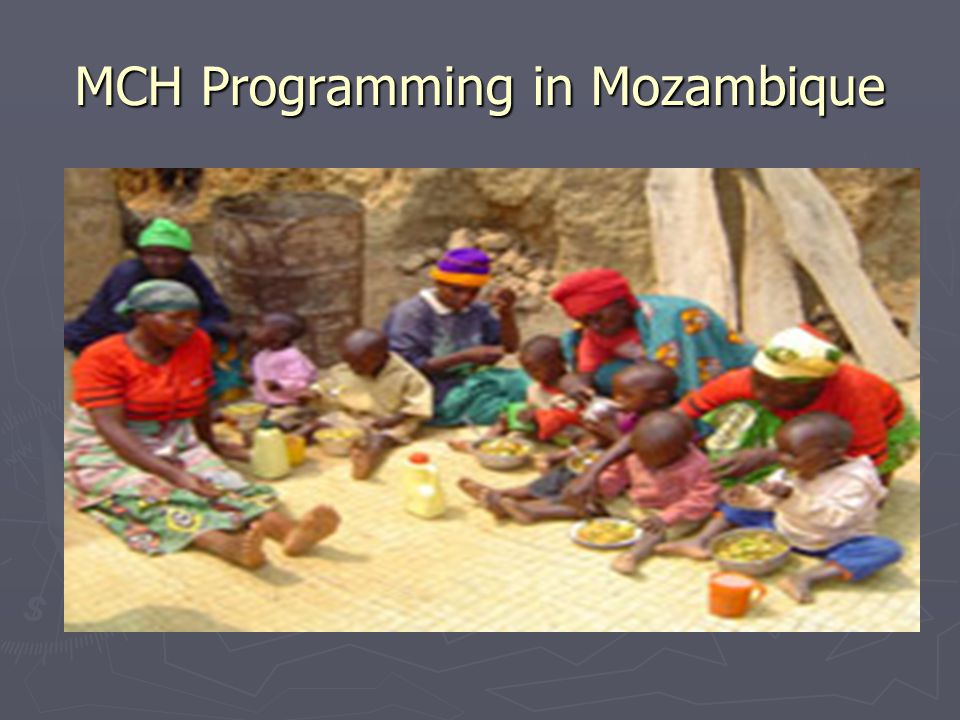 MCH Programming in Mozambique