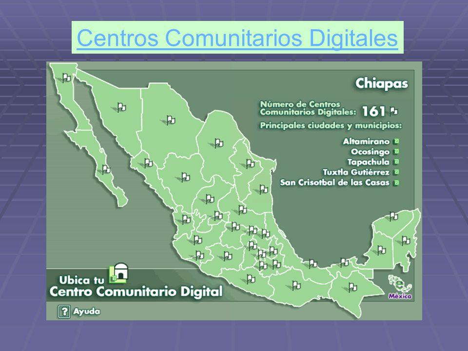 Centros Comunitarios Digitales