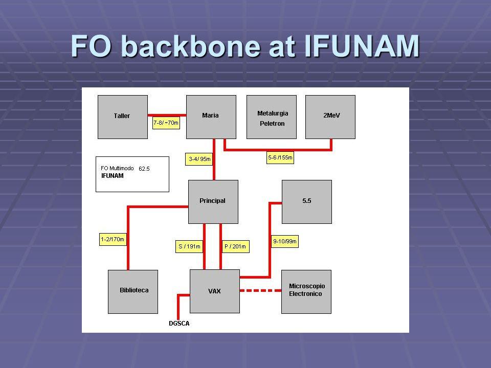 FO backbone at IFUNAM