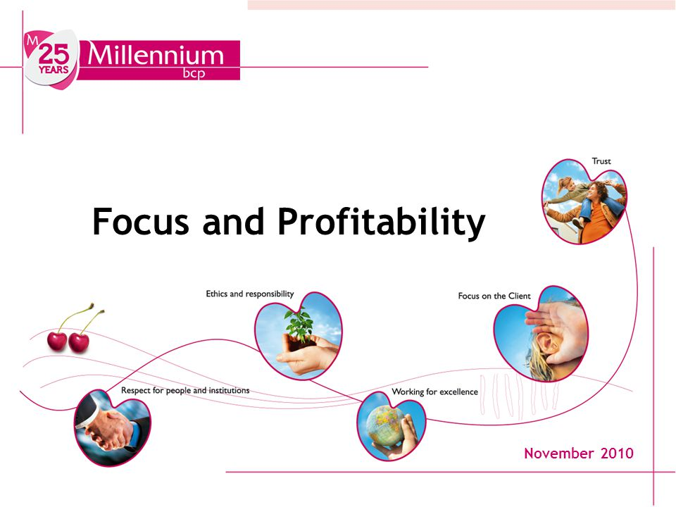 1 Focus and Profitability November 2010