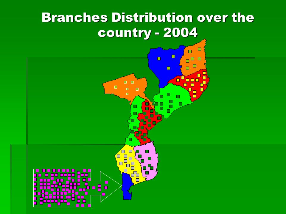 Branches Distribution over the country
