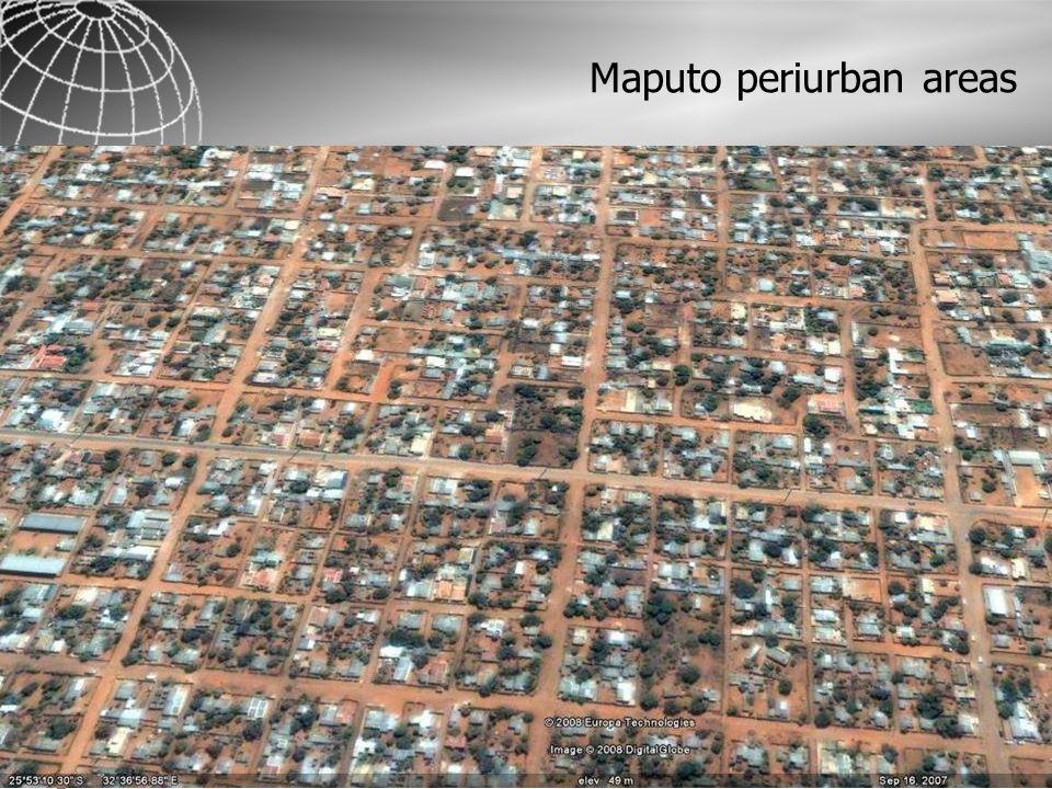 Maputo periurban areas