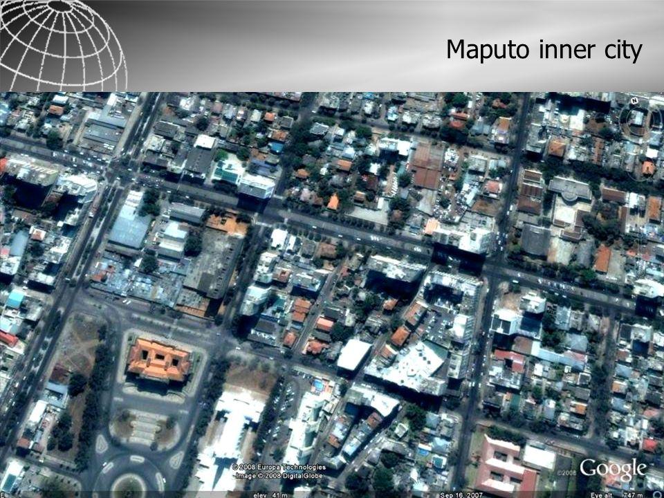 Maputo inner city