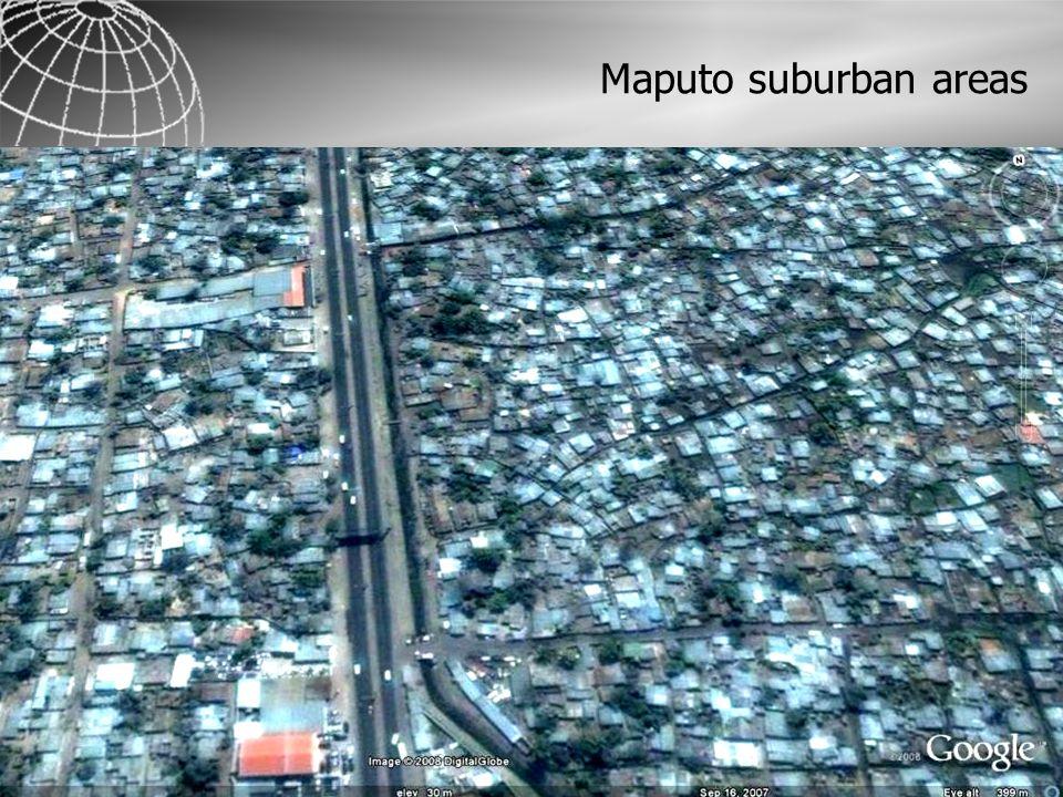Maputo suburban areas
