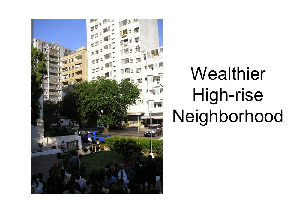 Wealthier High-rise Neighborhood