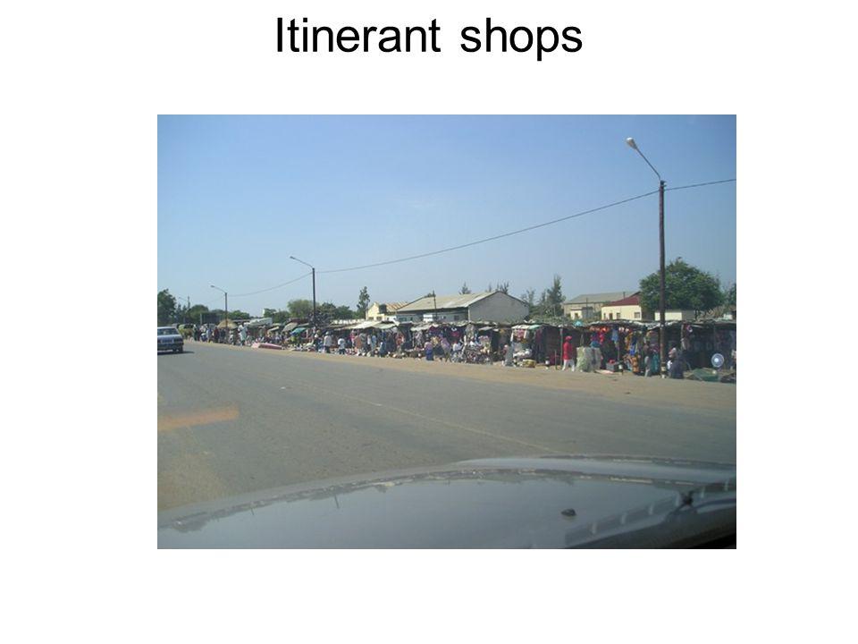 Itinerant shops