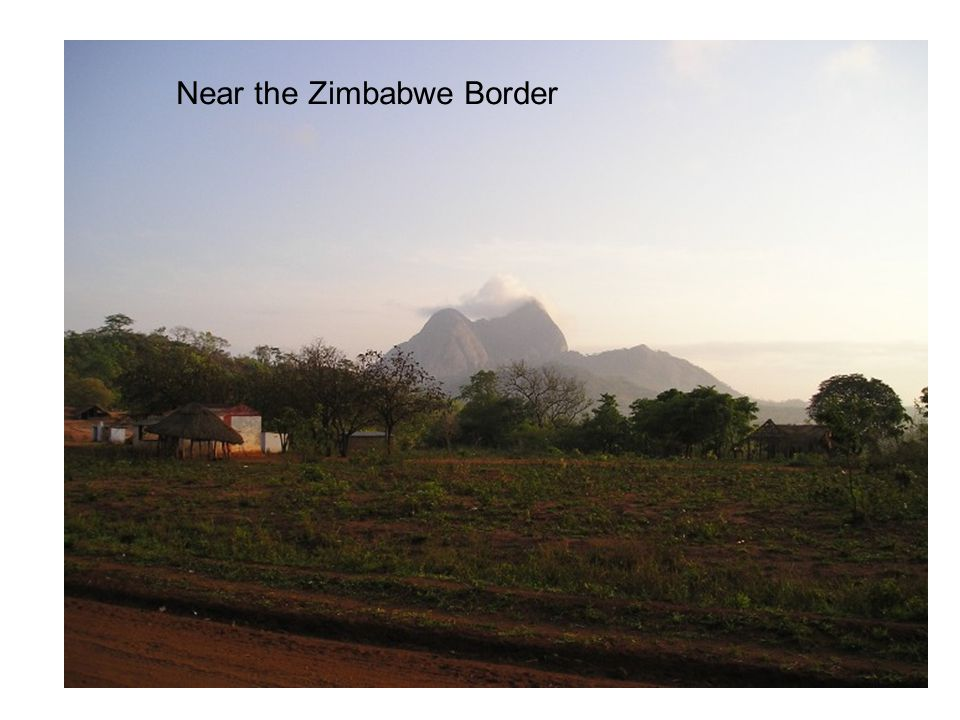 Near the Zimbabwe Border