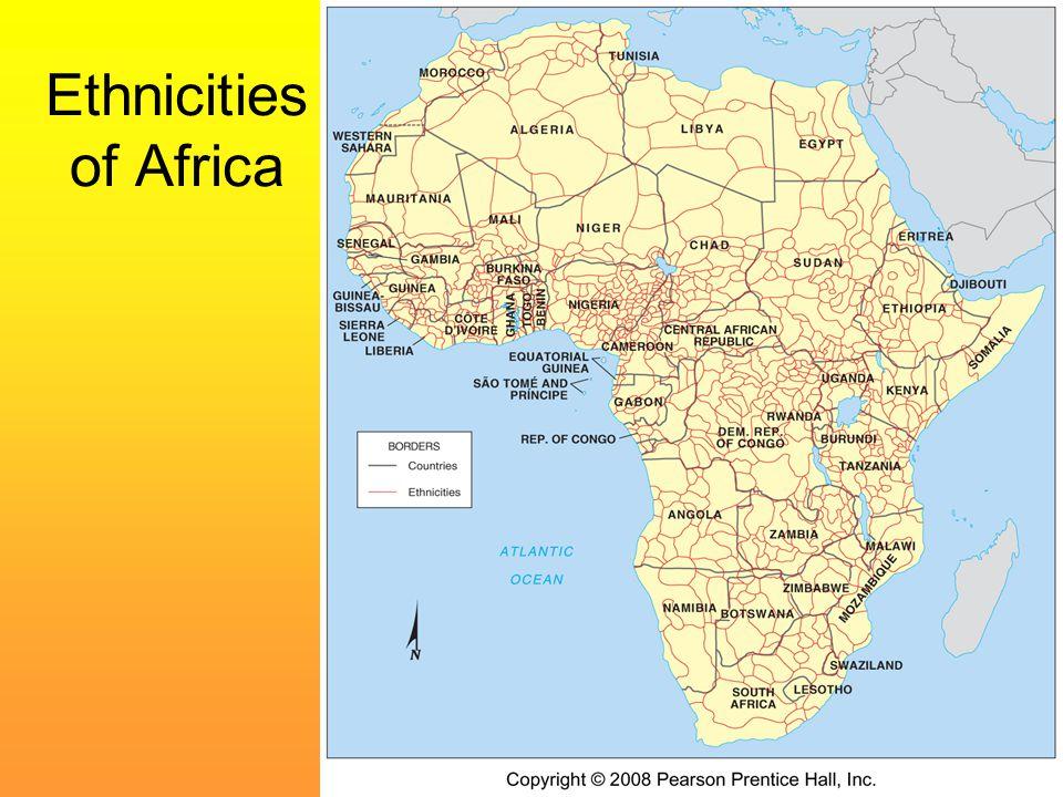 Ethnicities of Africa