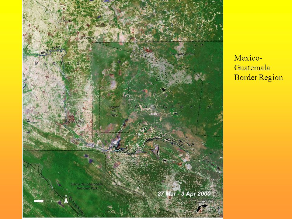 Mexico- Guatemala Border Region