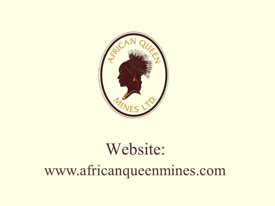 www.africanqueenmines.com Website: