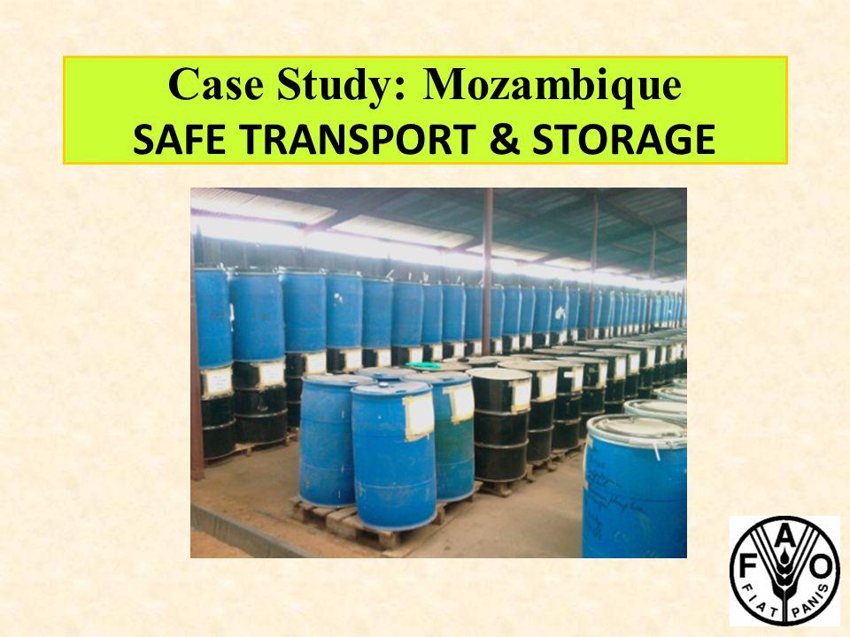 Case Study: Mozambique SAFE TRANSPORT & STORAGE