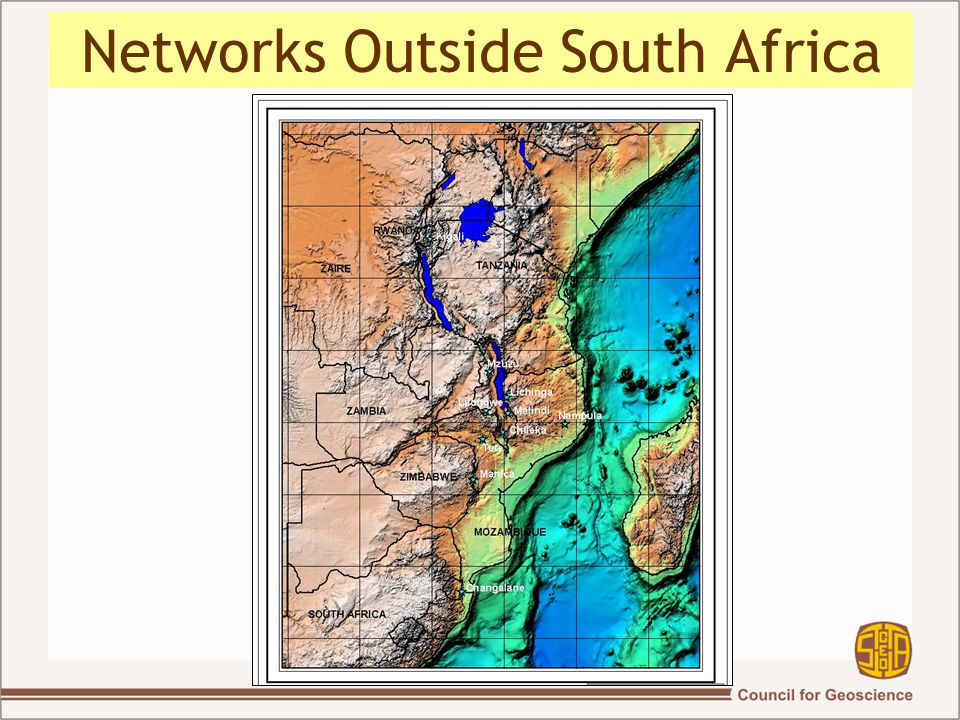 Networks Outside South Africa