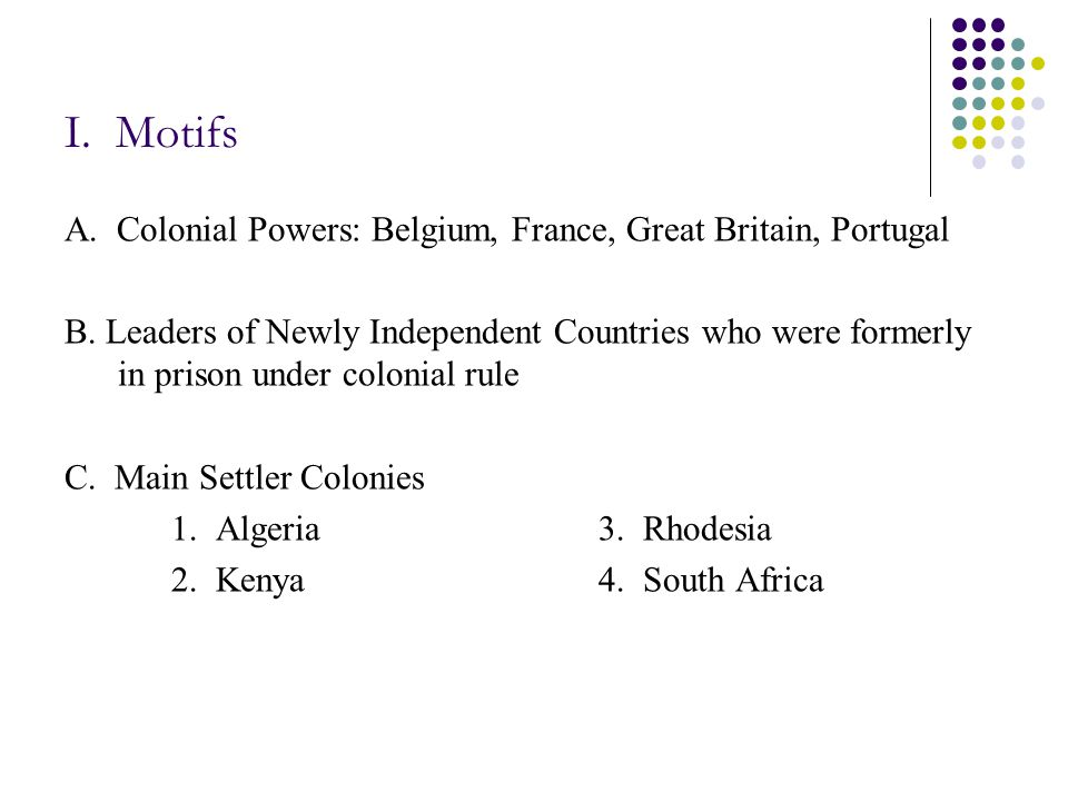 II.Case Studies E. Nigeria 1. Peoples a. Hausa (in the north) b.