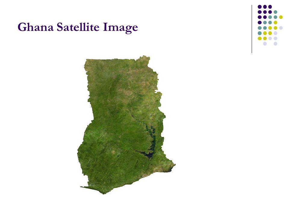 Ghana Satellite Image