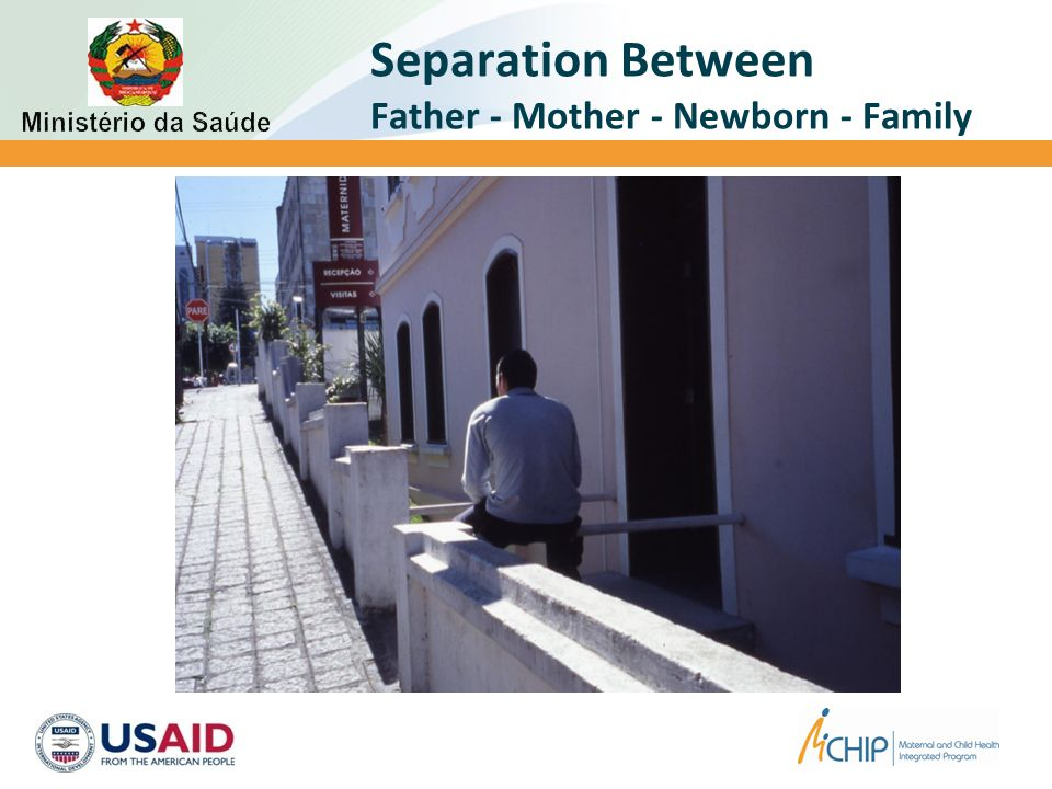Separation Between Father - Mother - Newborn - Family