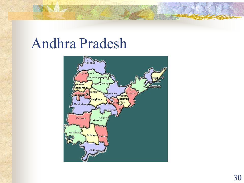30 Andhra Pradesh