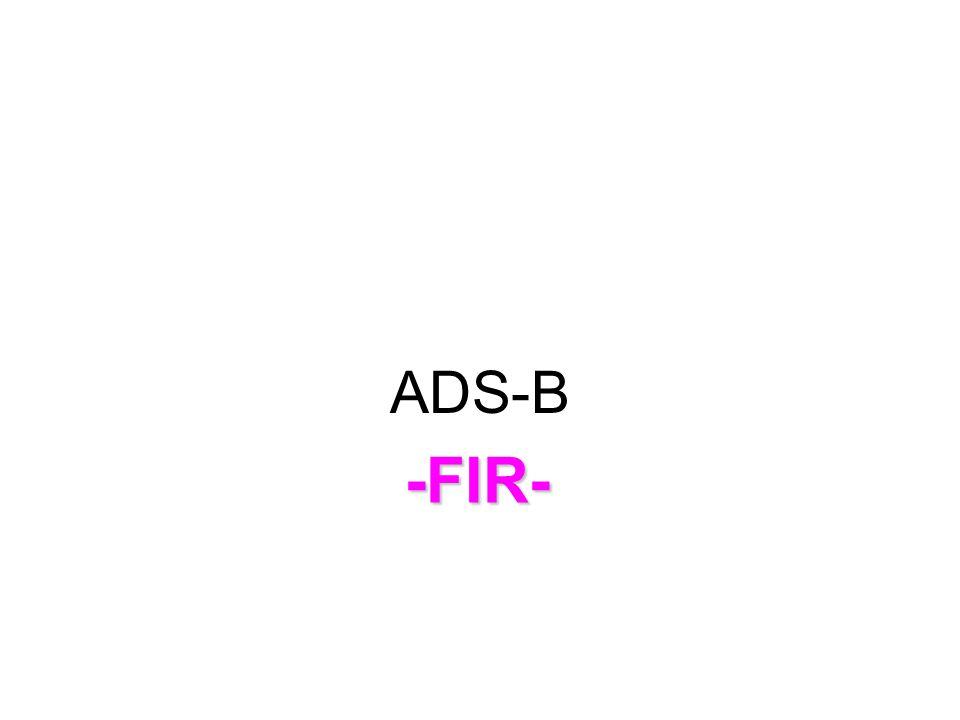 ADS-B -FIR-