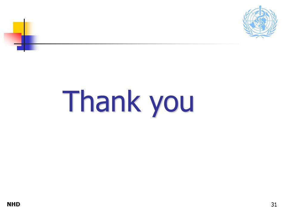 NHDNHD 31 Thank you