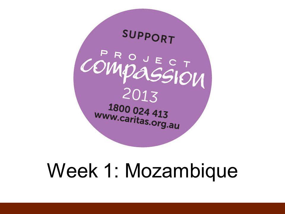 Week 1: Mozambique