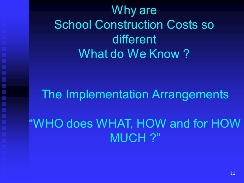 12 Why are School Construction Costs so different What do We Know .
