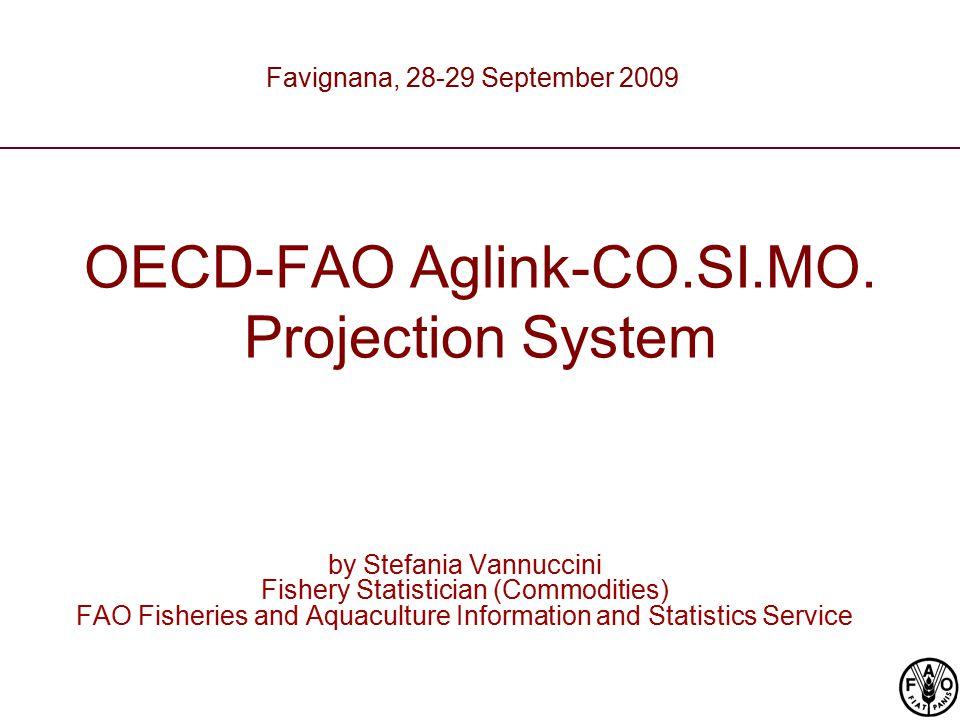 OECD-FAO Aglink-CO.SI.MO.