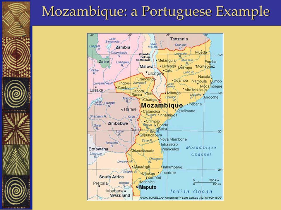 Mozambique: a Portuguese Example