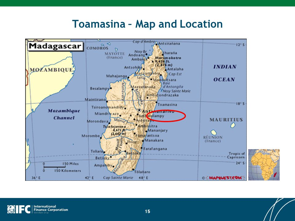 15 Toamasina – Map and Location