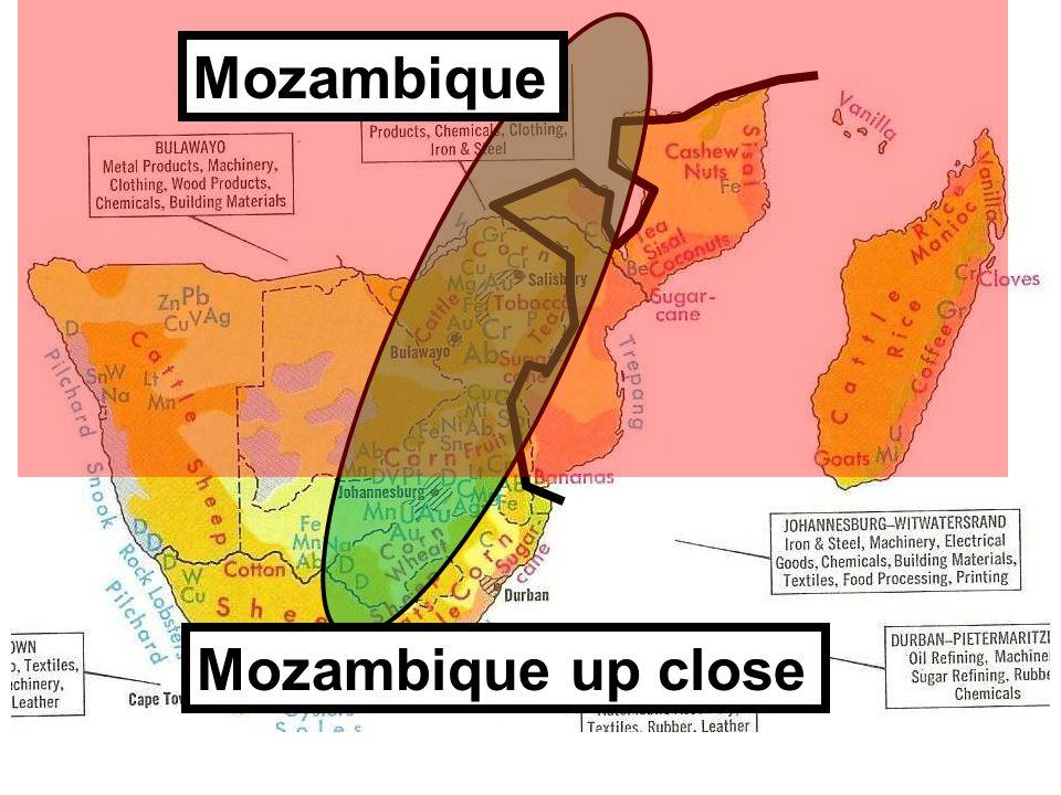 Mozambique Mozambique up close