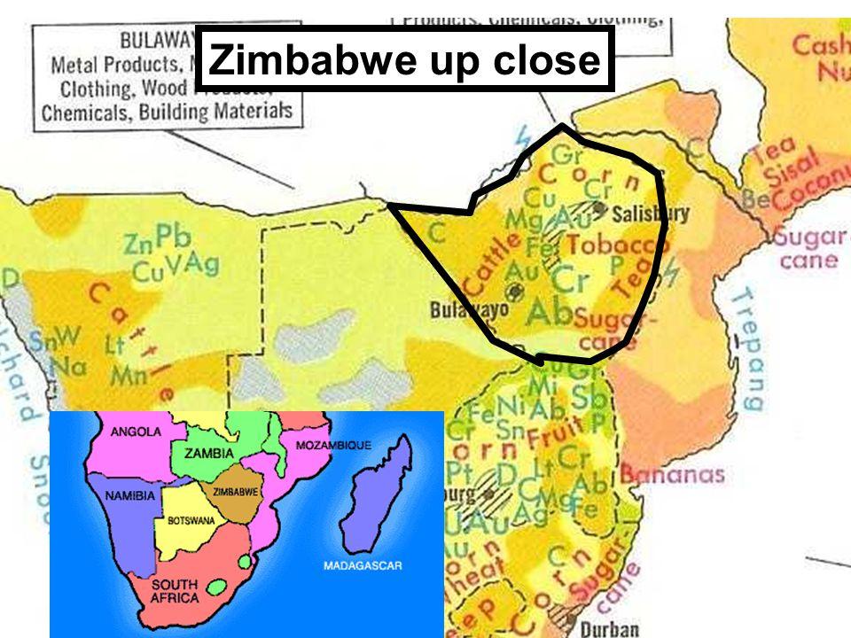 Zimbabwe up close