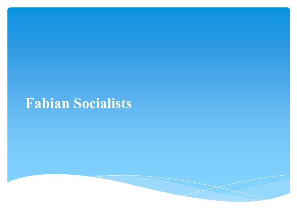 Fabian Socialists