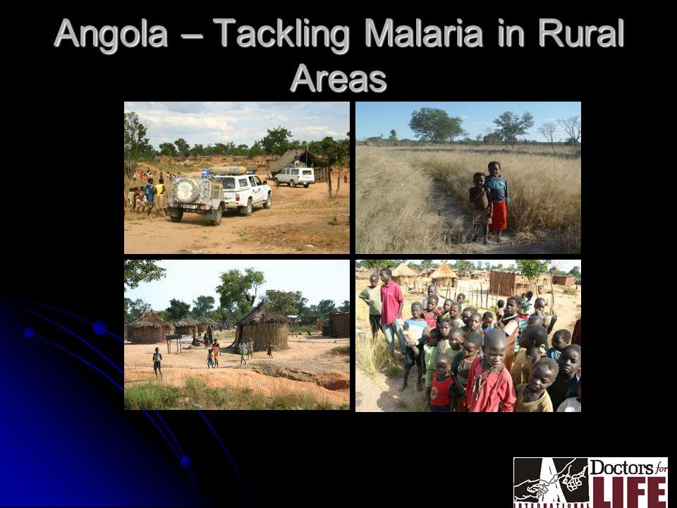 Angola – Tackling Malaria in Rural Areas