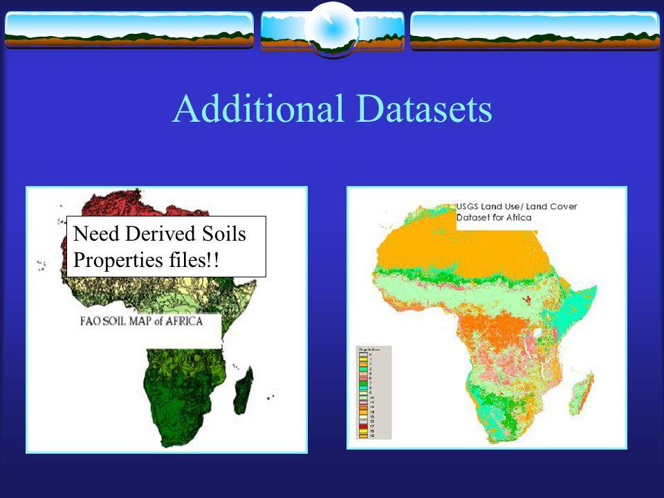 Additional Datasets Need Derived Soils Properties files!!