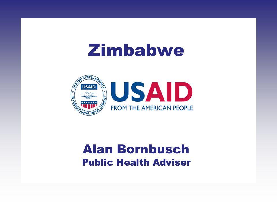 Zimbabwe Alan Bornbusch Public Health Adviser