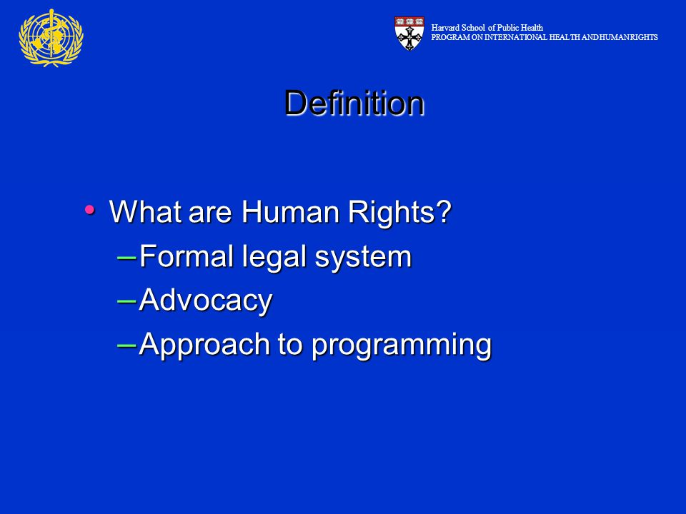 What are Human Rights. What are Human Rights.