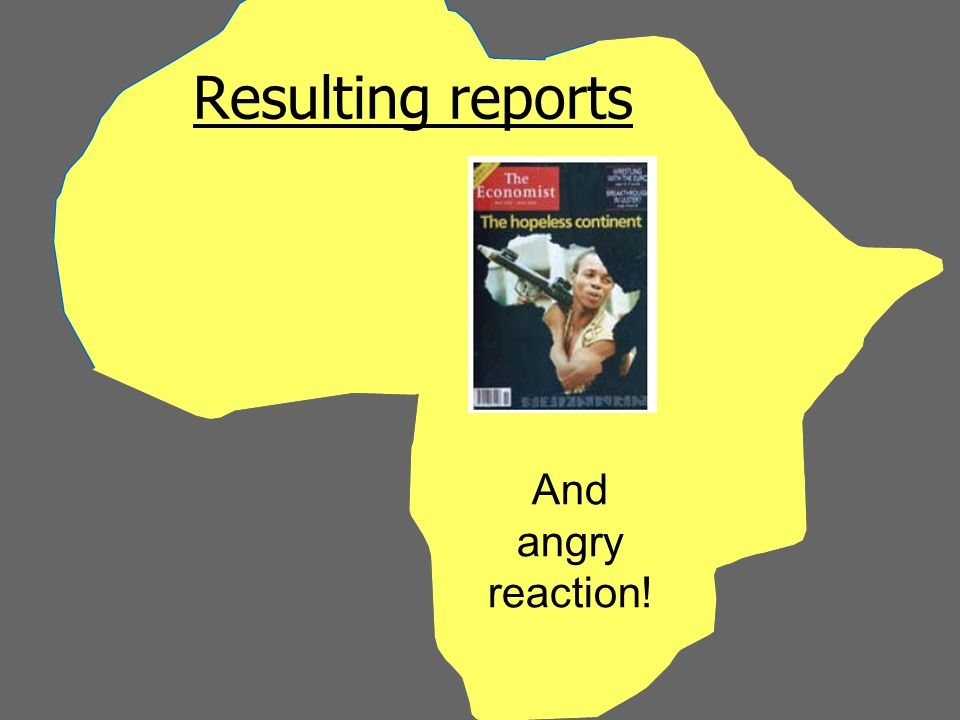 Resulting reports And angry reaction!
