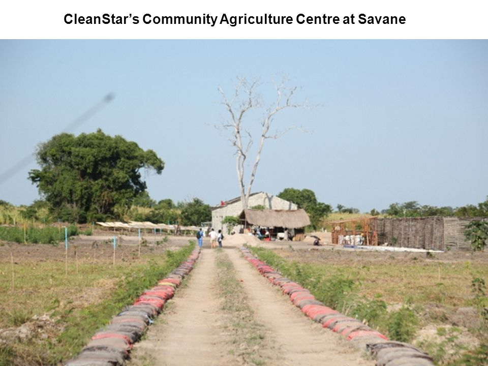CleanStar's Community Agriculture Centre at Savane