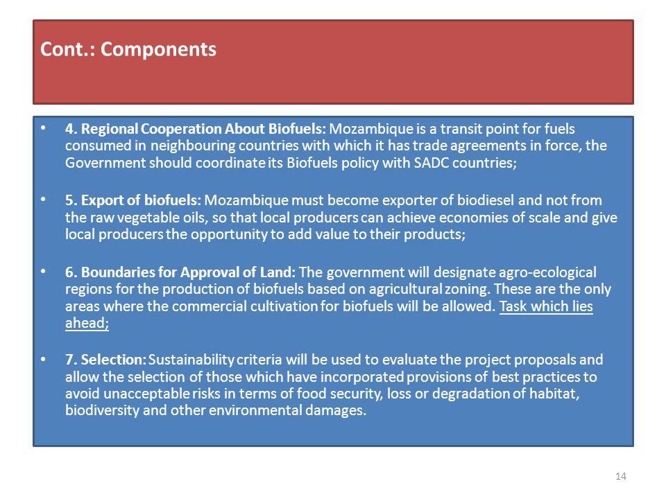 Cont.: Components 4.